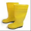 Botas de caucho (PVC) industrial punta  acerada