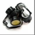 Mascara de protección visual y respiratoria